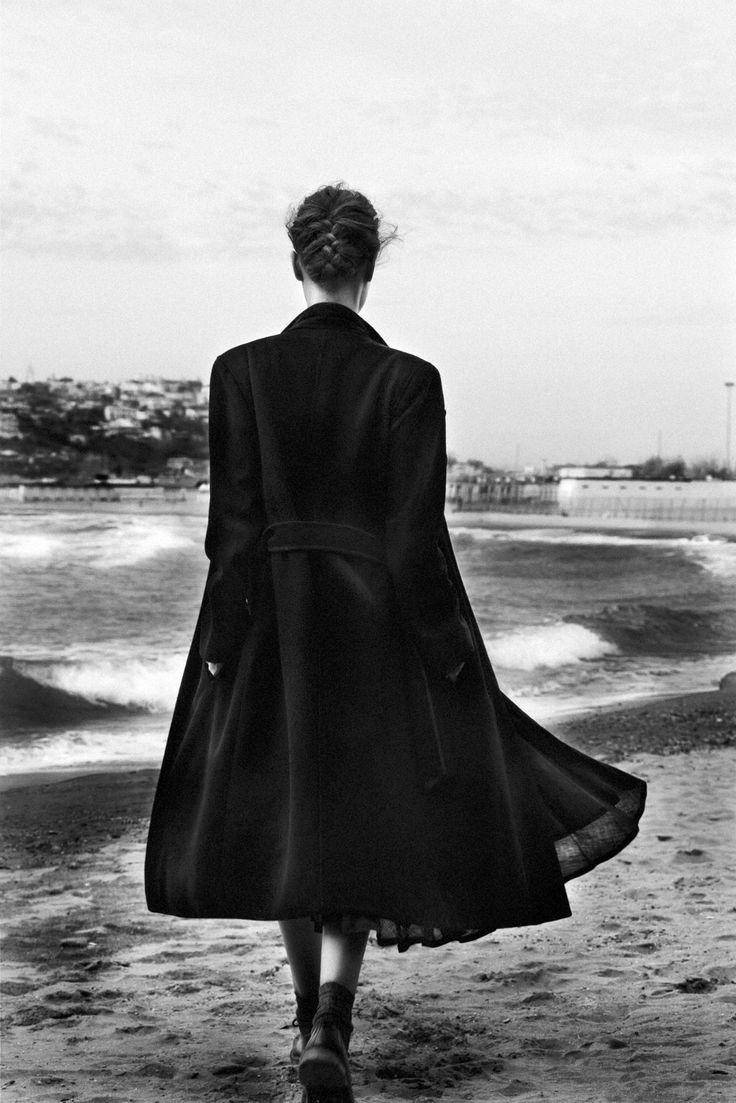 Skirt_Blues Vintage  Shirt_Loredana Cattolico  Coat_Sartoria Le Vintage  Shoes_Dr Martens  Necklace_Rossella Catapano  Quartz Pendant_Terry Di Renzo