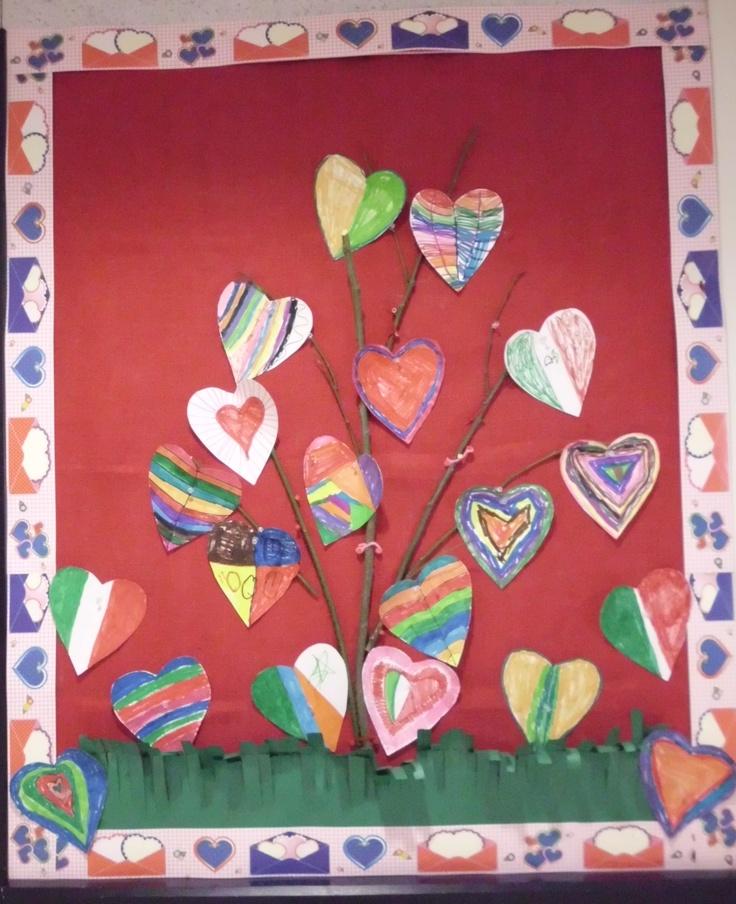 Valentines Bulletin Board Ideas Preschool Friendship
