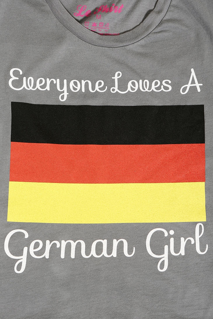 and this... Everyone Loves A German Girl