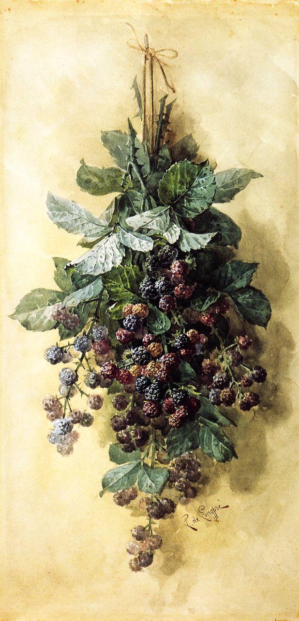 The Athenaeum - Blackberries (Raoul de Longpre - )