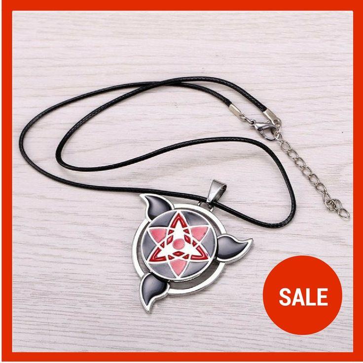 Uchiha Itachi NEW Mangekyou Sharingan Necklace. Sasuke Uchiha. Naruto. Sakura. Naruto Collectibles