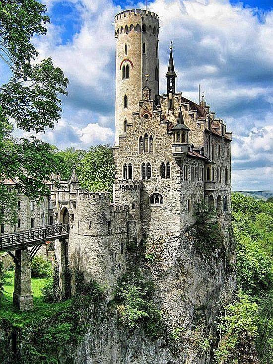 Liechtenstein Castle in Black Forest of Germany