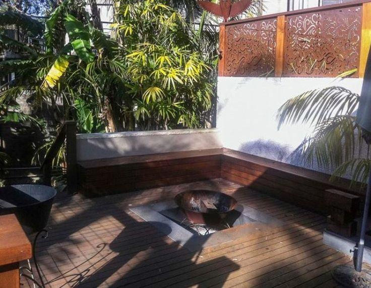 Brise Vue Jardin Et D Co En Acier Corten 30 Id Es Splendides Foyers
