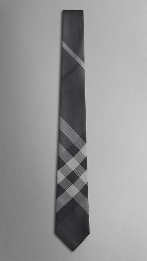 Check Silk Tie | Burberry