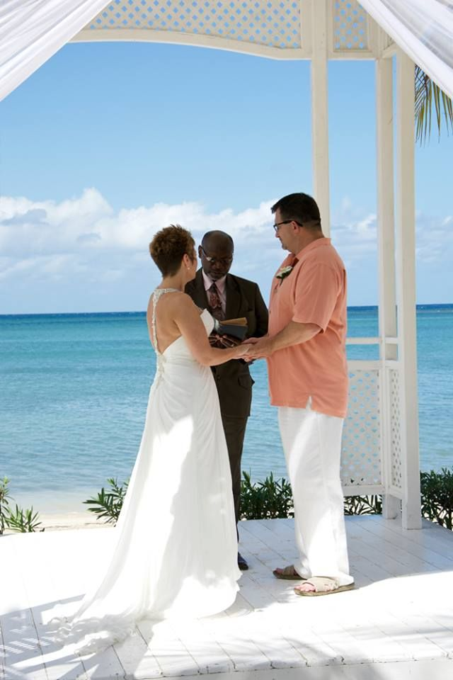 Ceremony Beach Gazebo Riu Montego Bay Jamaica Www