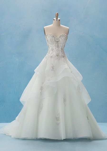 Belle Gown - Collection 2 | Alfred Angelo Bridal Collection | Disney's Fairy Tale Weddings & Honeymoons