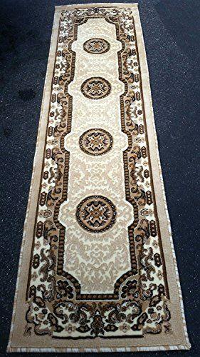 Traditional Long Runner Rug Persian Ivory Kingdom Design #D123 (2ft4in.X10ft11in.) https://arearugsforlivingroom.info/traditional-long-runner-rug-persian-ivory-kingdom-design-d123-2ft4in-x10ft11in/