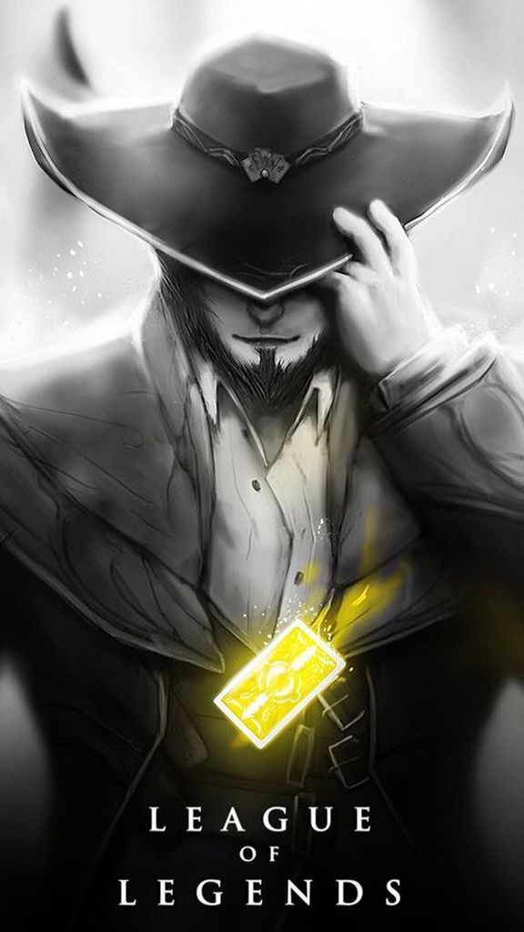 ️ league of legends twisted fate Lol league of legends