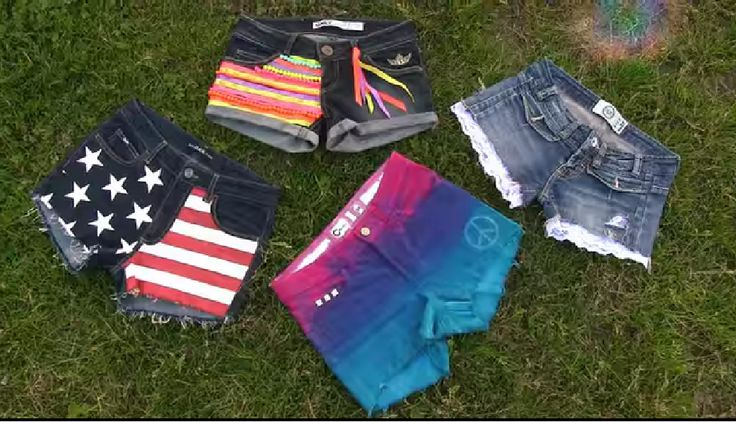 DIY Clothes tutorial with 4 DIY shorts designs! In this DIY fashion tutorial I show how to create 4 beautiful shorts projects out of old jeans. It's a perfect DIY clothes tutorial for warm summer days. This video is first from my DIY clothes projects series. If you have old jeans in the closet that you don't need anymore why not revamp, recycle, renovate, DIY these clothes into awesome DIY shorts. I show 4 easy step by step DIY shorts ideas
