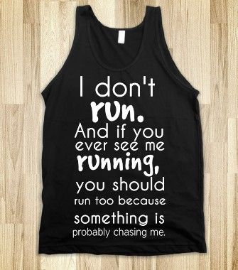 I Don't Run - Fashion Addict - Skreened T-shirts, Organic Shirts, Hoodies, Kids Tees, Baby One-Pieces and Tote Bags