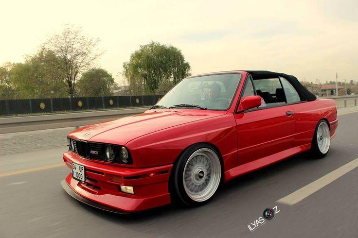 BMW E30 M3 red cabrio | BMW - Ultimate Driving Machine ...