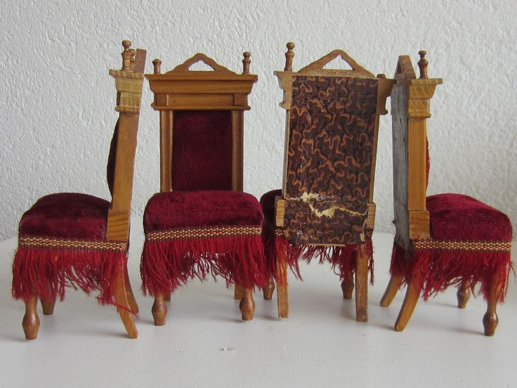 Four upholstered chairs by Schneegass