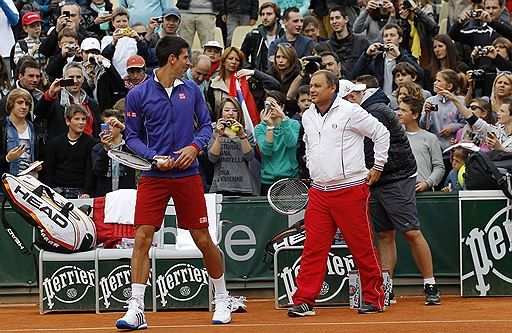 Djokovic wants change Coach???
