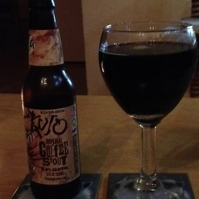Imperial coffee stout - Flying Dog
