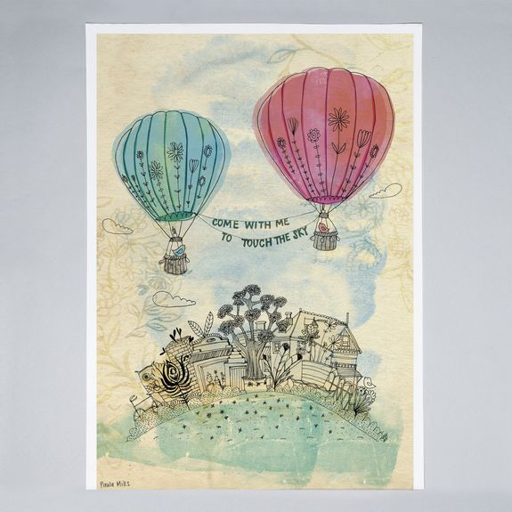 Sweet William - Touch The Sky - Print