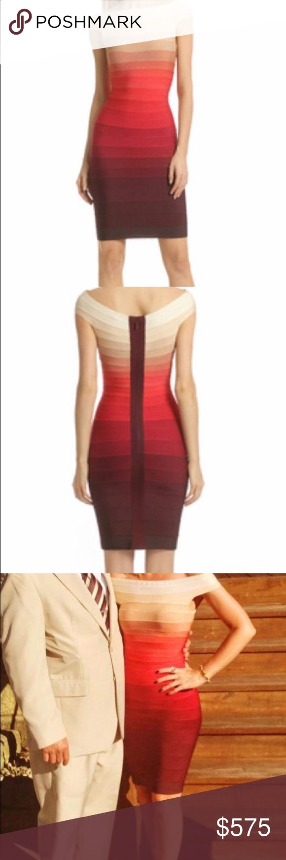 Hervé Legér Volcano Explosion Dress Size Small & Medium Available ...Can Do 500$ On P/P Herve Leger Dresses Midi