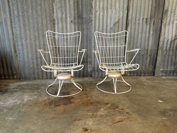 Midcentury Outdoor Chairs / Homecrest / Pair of Chairs / Vintage Outdoor  Furniture / 1960s / Swivel Chair / Vintage Furniture - 21 Best Vintage Patio Images On Pinterest Vintage Patio