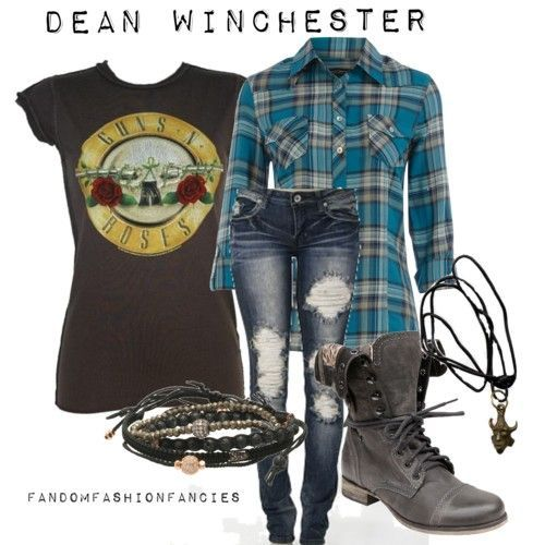 Supernatural. I absolutely love everything about this outfit. Its so awesome.