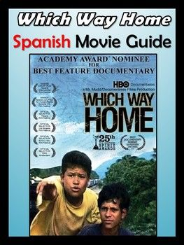 Which Way Home Documentary Guide in Spanish
