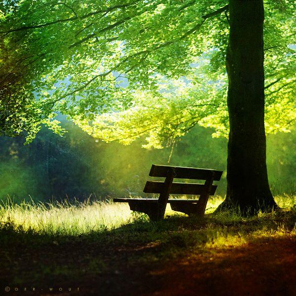 so calm and peaceful