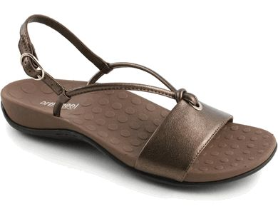 cute support sandals orthaheel mia  women's arch