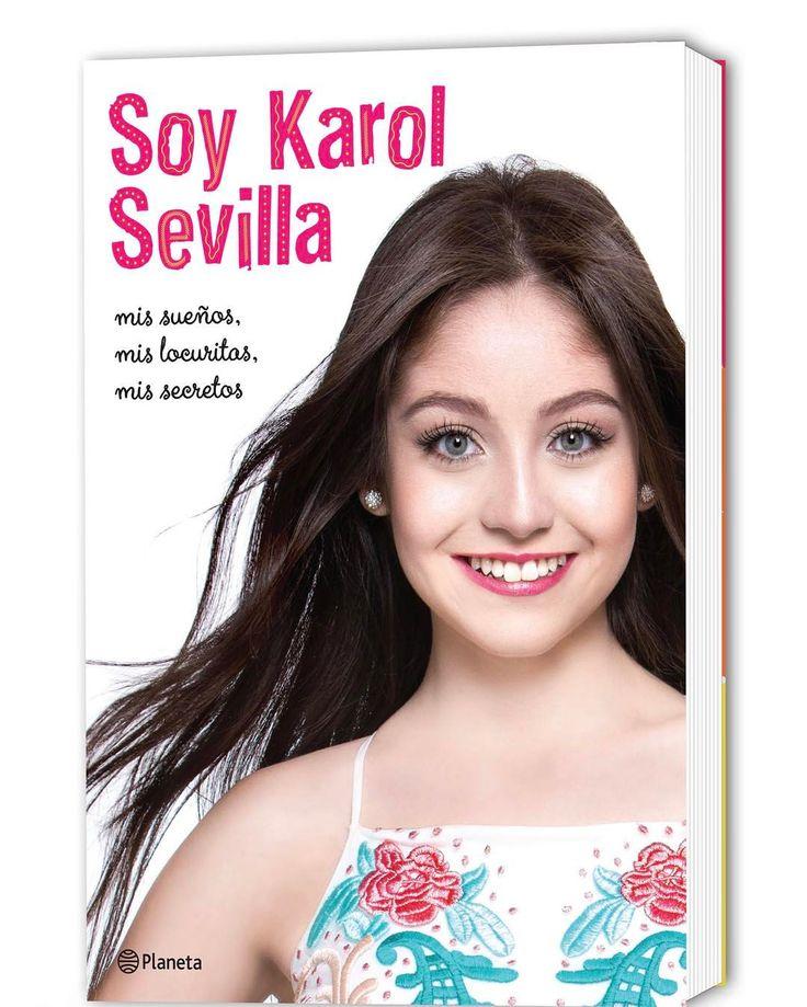 """""""¡Súper Feliz de presentarles la tapa de mi libro #SoyKarolSevilla! Muy prontoooo ♥️"""""""