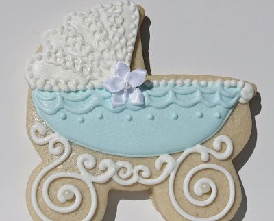 Sugar Bea's Blog: Baby Carriage Cookies