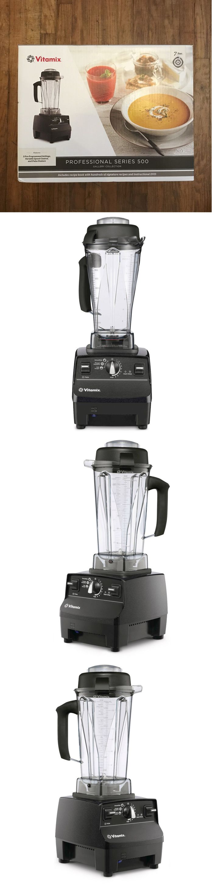Blenders Countertop 133704: New Vitamix Professional Series 500 Gallery Collection Blender, Black Diamond -> BUY IT NOW ONLY: $419.88 on eBay!
