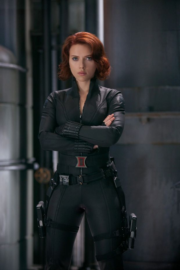 """I finally saw """"The Avengers"""" last week and I have to say, Black Widow's character was a tough enough woman to have amidst all those boys-who-are-Men (Thor, Iron Man, the Hulk, Captain America all fit this)."""