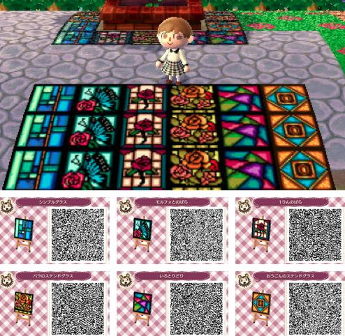 1000 images about animal crossing new leaf 3ds on for Floor qr codes new leaf