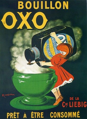 Vintage AdsBoullion Oxo Posters, Drinks Posters, Vintage Posters, Bouillon Oxo, Posters Art, Vintage Ads, Advertising Posters, Vintage Advertising, By Leonetto Cappiello