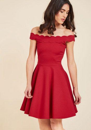 Romantic Marvel A-Line Dress