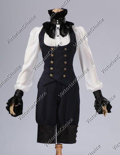 victorian tailored suit vest trouser breeches halloween. Black Bedroom Furniture Sets. Home Design Ideas