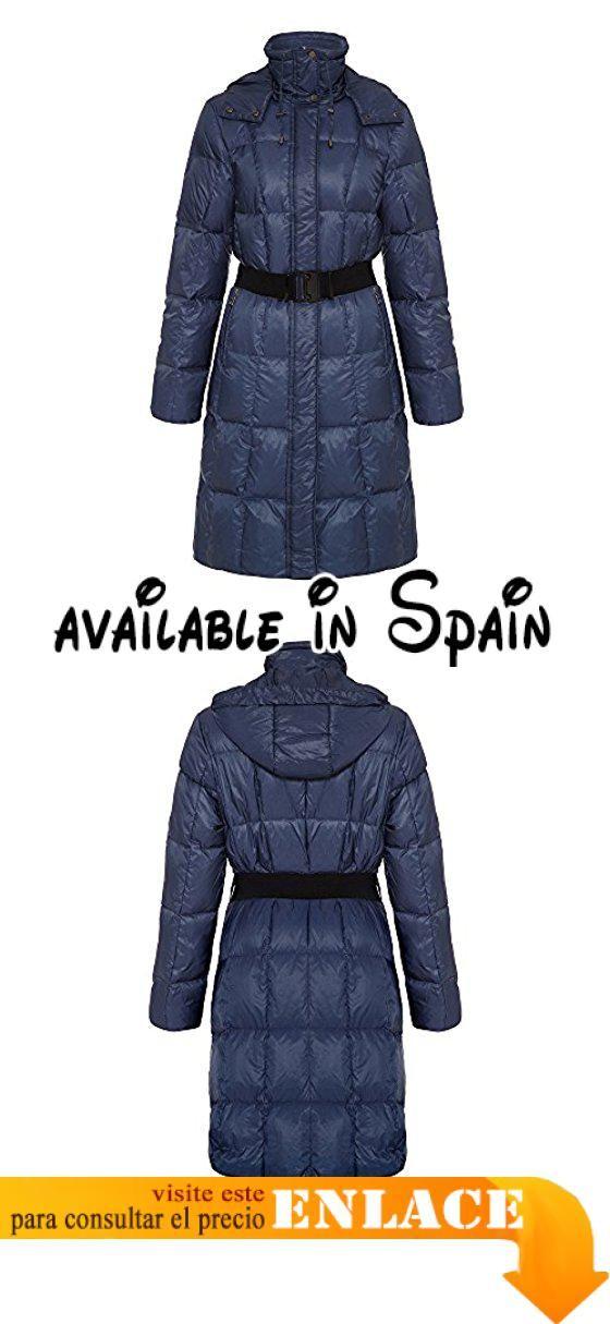 Azul Abrigo Mujer Barry B00mwve0d8 Para 42 Impermeable David KZcTKYF1qO