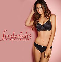 7 for $25 Frederick's Panties Sale w/ $29.50 Bras