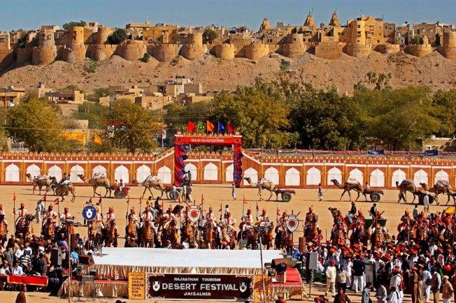 25 festivais para ver antes de morrer - Desert Festival, Índia