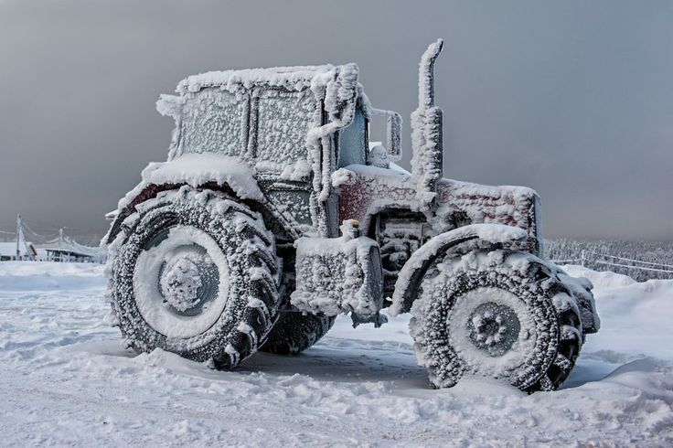 Winter is coming.  #farm #macinery #equipment #agriculture #agricultural #tractor #winter #winteriscoming