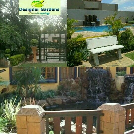 Landscaping,  swimming pools and rock art by Designer Gardens Landscaping www.designergardenlandscaping.co.za