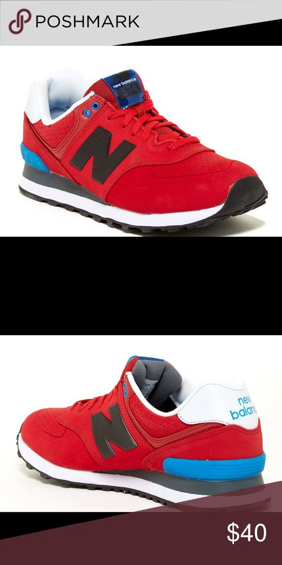 New Balance 574 Women's Tennis Shoes Never Worn, Still in Box! Nordstrom sent me the wrong size and didn't accept an exchange. Size 7. New Balance Style 574 Acrylic, Red White & Blue. New Balance Shoes Sneakers