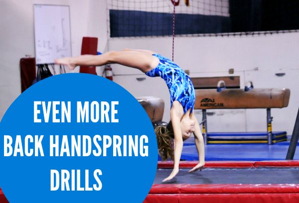How to get your Back Handspring in ONE Day - YouTube