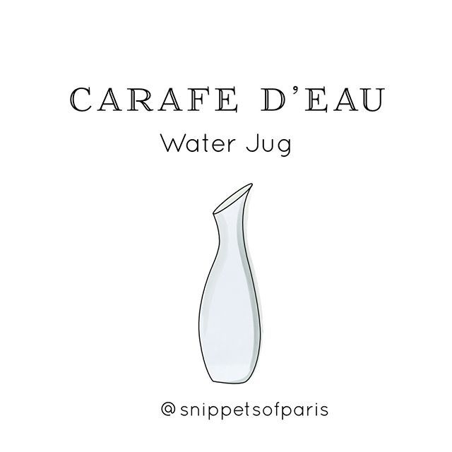 Number 1 Tip For French Dining You Can Ask For A Jug Of Tap Water