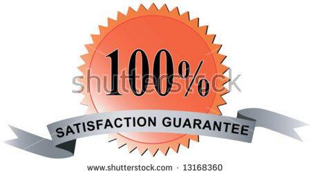 100% satisfaction guaranteed seal  #satisfactionguarantee #retro #illustration