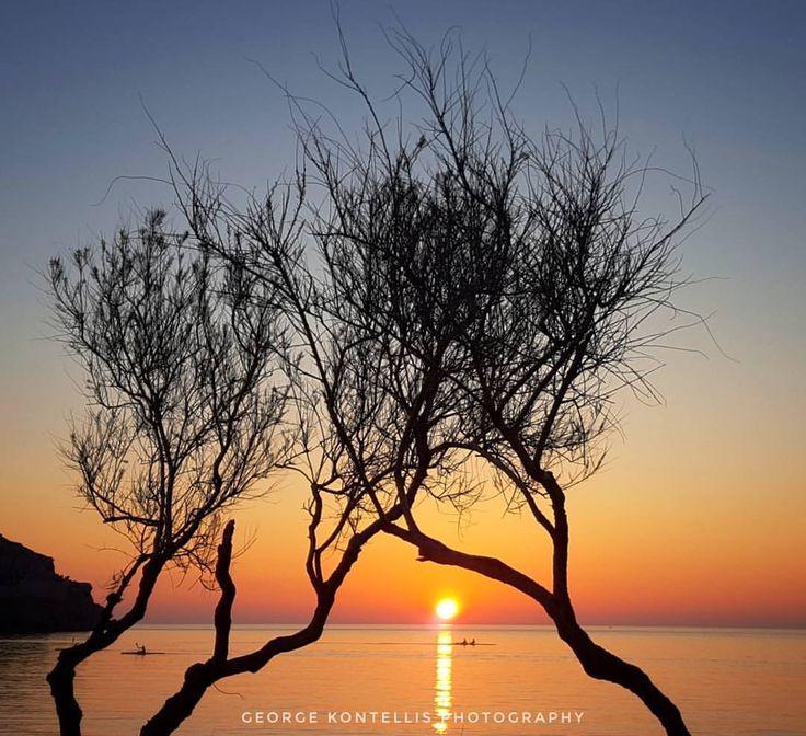 Τα μαγικά ηλιοβασιλέματα της Λήμνου!   Φωτό: Γιώργος Κοντέλλης