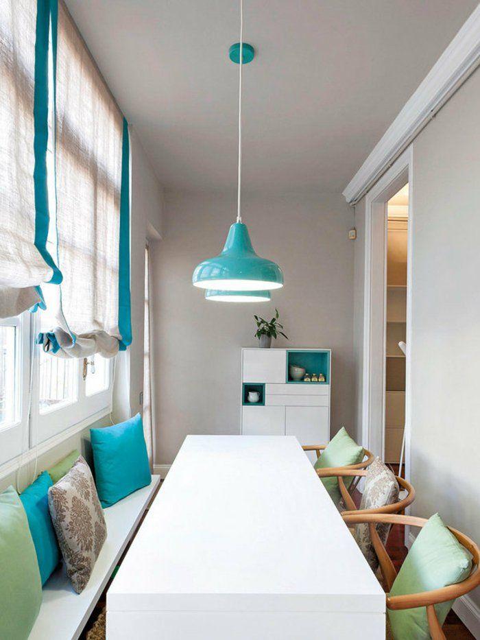 einrichtungsideen esszimmer innendesign deko türkis Wohnideen - einrichtungsideen esszimmer