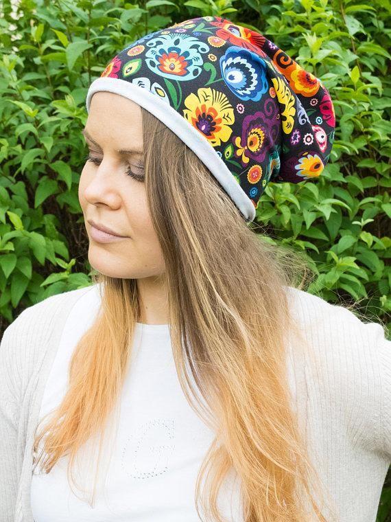 Womens lightweight beanie floral summer hats trendy chemo   hatsforwomenautumn 511f53329e1