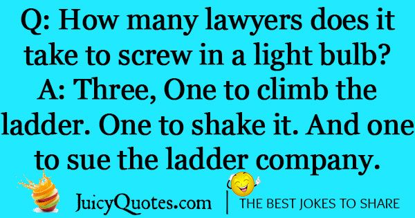 Funny Lawyer Joke -23