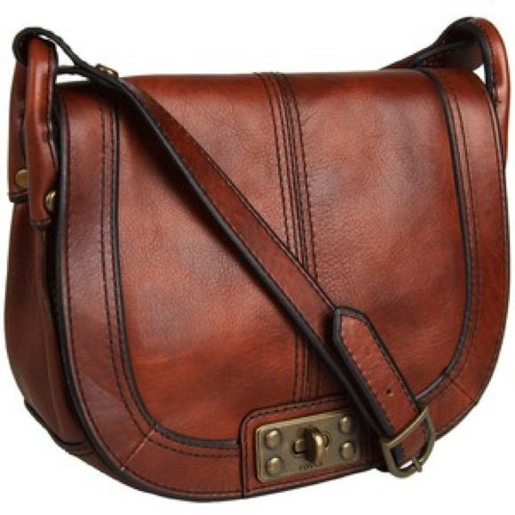 FOSSIL Vintage Revival Flap Crossbody with Lock More pics and specs coming soon!!! Fossil Bags Crossbody Bags