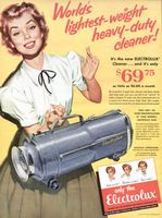 Electrolux Vacuum Cleaner 1950 Ad Picture