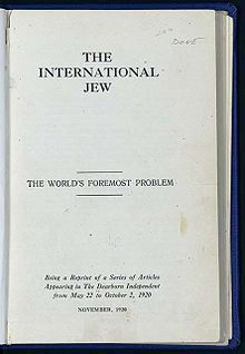 The International Jew by Henry Ford