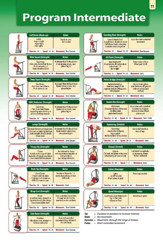 78 Images About Whole Body Vibration Exercises On